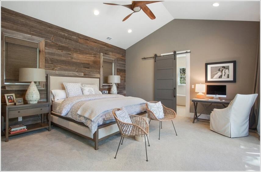 Trang trí phòng ngủ với nội thất wicker
