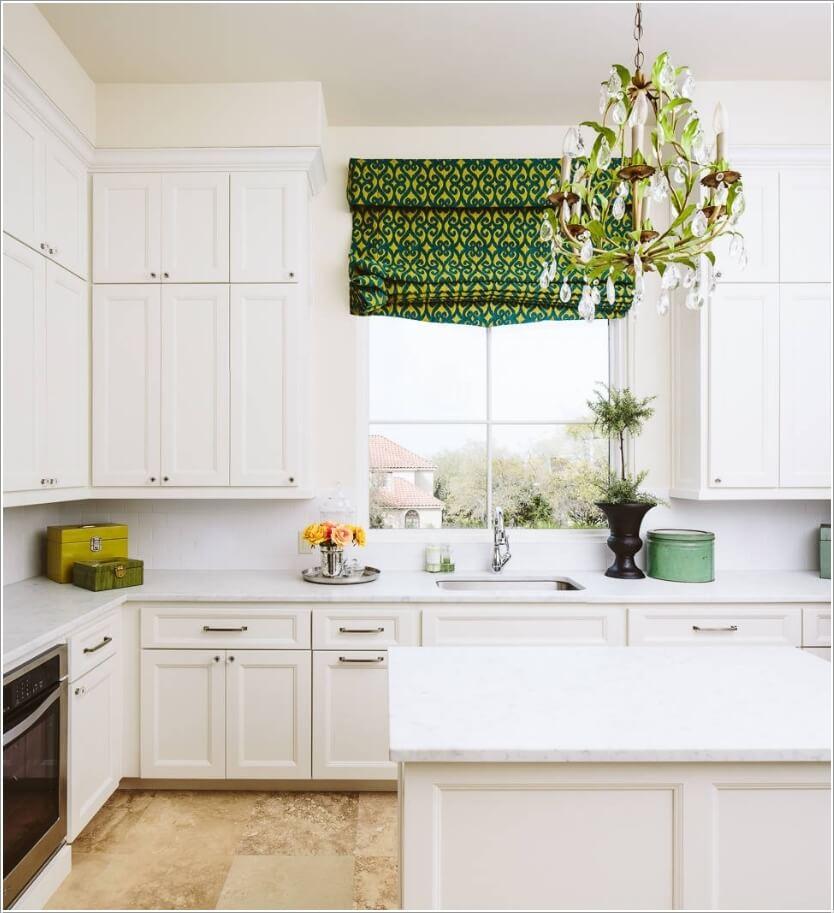 Dịu mát với cách trang trí căn bếp màu xanh