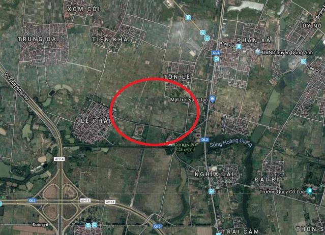 Hà Nội: Duyệt quy hoạch 1/500 Khu nhà ở xã hội tập trung 44,72ha Đông Anh