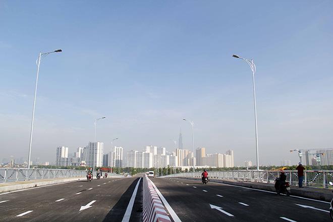 Thông xe cầu 500 tỷ nối đường Mai Chí Thọ với đảo Kim Cương