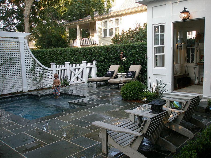Ngôi nhà hoàn hảo với hồ bơi ngoài trời