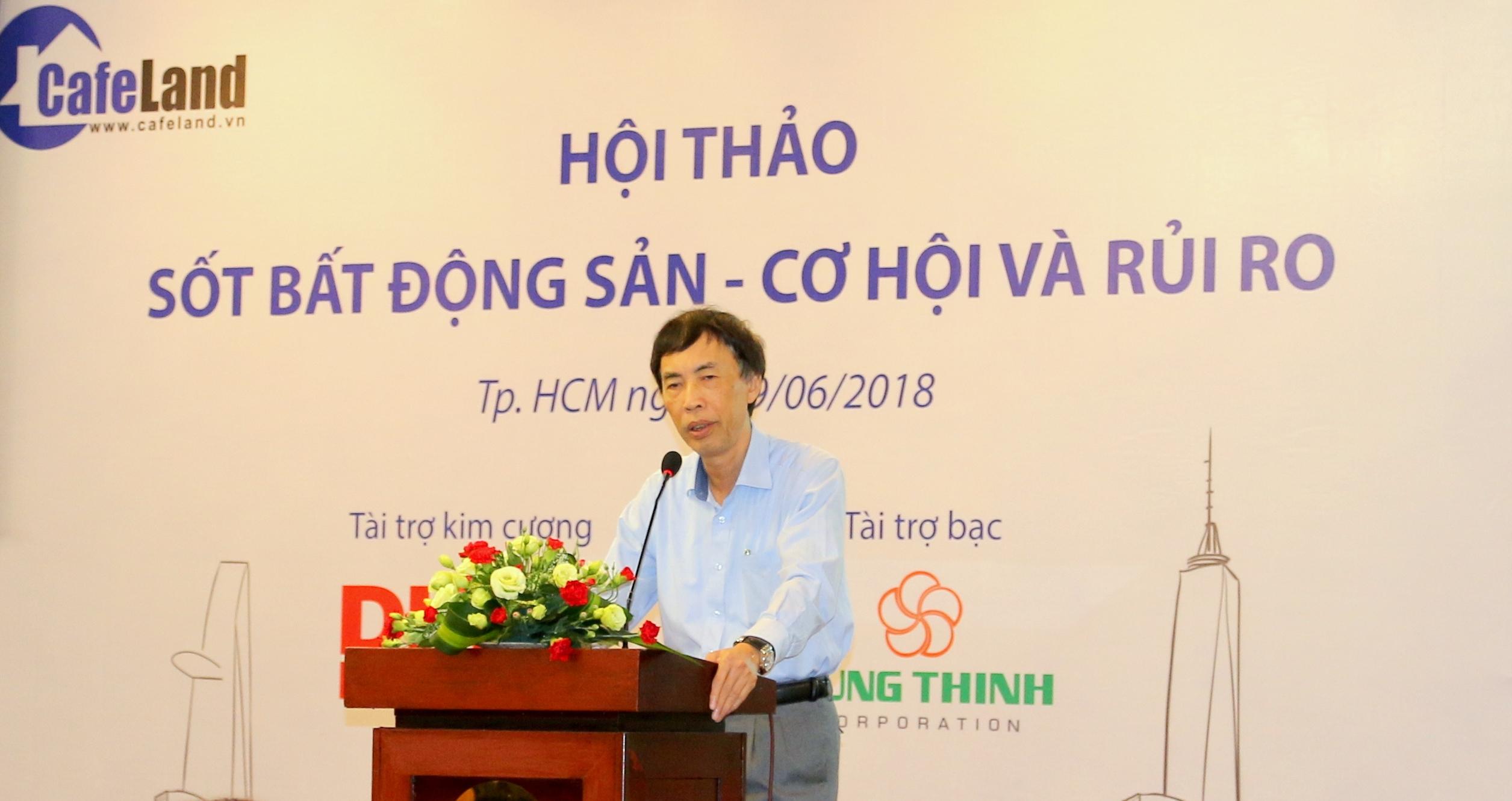 Tiến sĩ Võ Trí Thành: Đừng quá hốt hoảng với bong bóng bất động sản