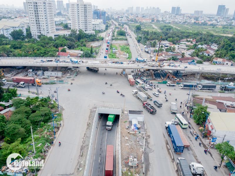 Thông xe cầu vượt gỡ nút thắt giao thông khu vực Cát Lái