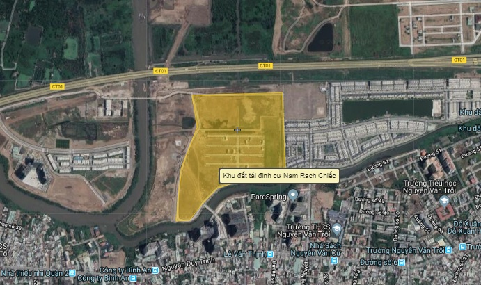 TP.HCM: Dành 226 căn hộ R7 Đức Khải và 80 nền khu 30ha Nam Rạch Chiếc để tái định cư