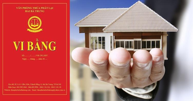 Siết lập vi bằng, mua bán nhà bớt rủi ro