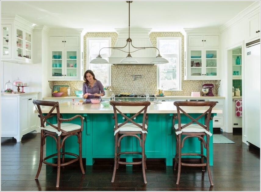 Nên chọn màu sắc nào để phù hợp với phòng bếp?