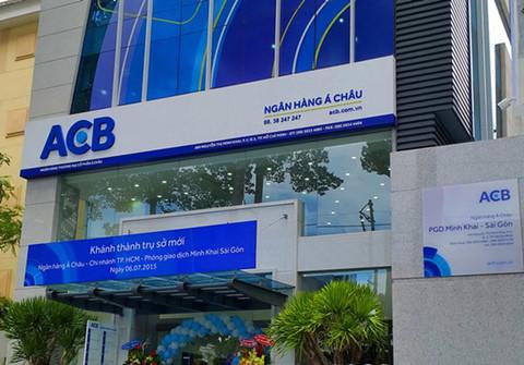 ACB sẽ tăng vốn điều lệ lên gần 13.000 tỷ đồng