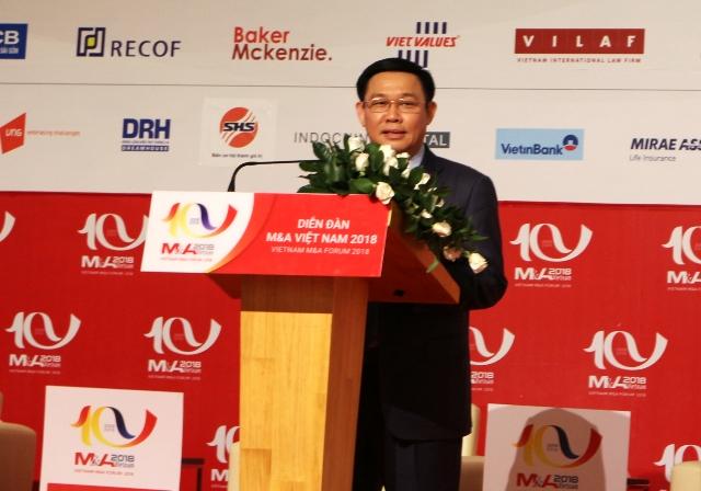 Phó thủ tướng Vương Đình Huệ: Việt Nam vẫn là địa chỉ hấp dẫn của các nhà đầu tư quốc tế