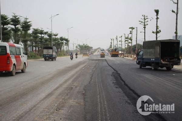 Sau gần 4 năm chậm tiến độ, đường 5.000 tỉ đồng nối 4 quận, huyện Hà Nội giờ ra sao?