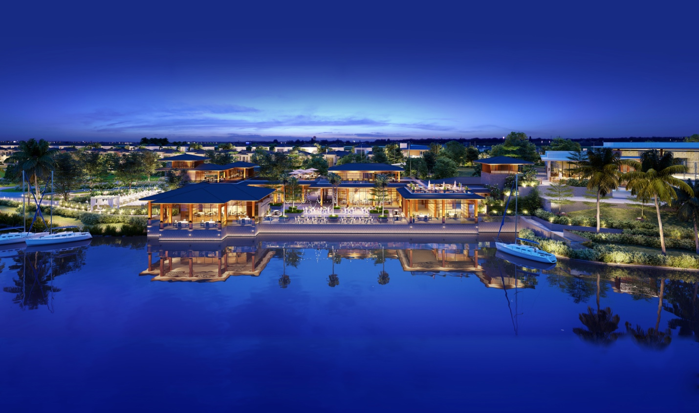 SwanCity đẩy mạnh hợp tác phát triển các dịch vụ tại khu bán lẻ Marina của SwanBay