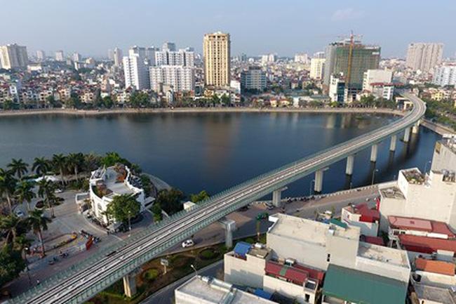 Giá bất động sản chưa bị tác động bởi đường sắt Cát Linh – Hà Đông