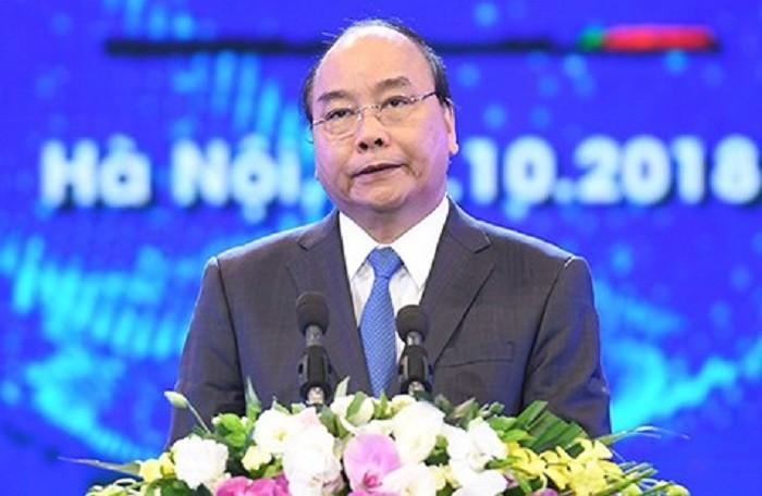 Thủ tướng Nguyễn Xuân Phúc phát biểu tại hội nghị FDI 30