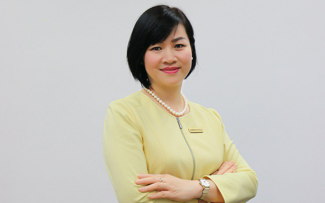 Bà Dương Thị Mai Hoa, nguyên Tổng giám đốc ABBank