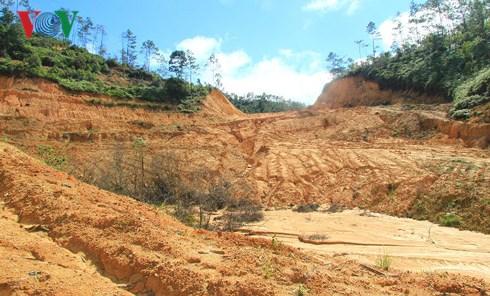 Dự án giao đất cho doanh nghiệp, chết lâm sàng sau lễ động thổ