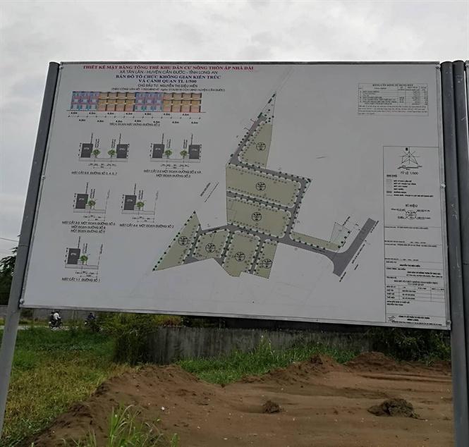 Long An: Nhiều dự án bất động sản có dấu hiệu khuất tất