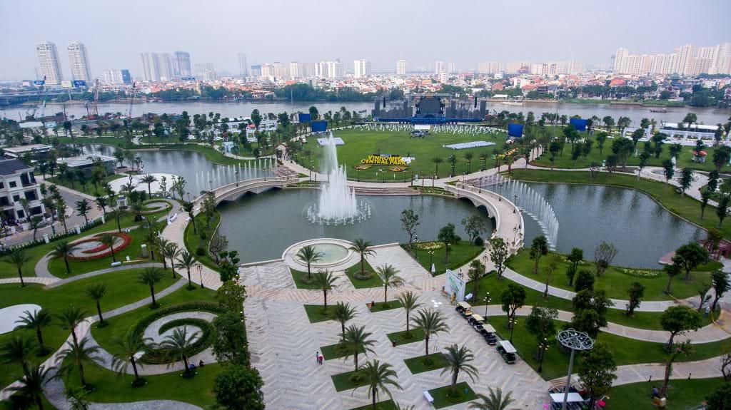 """Khám phá chuỗi công viên nội khu các dự án có quy mô """"khủng"""""""
