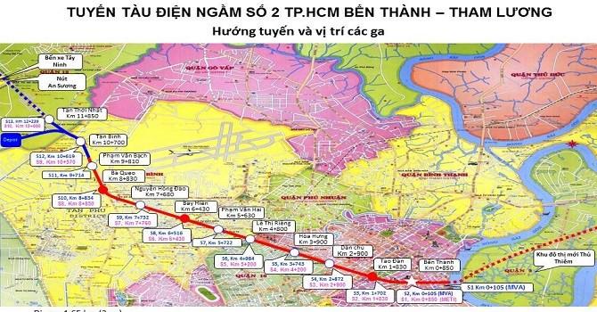 TP.HCM: Kiến nghị lùi tiến độ tuyến metro Bến Thành – Tham Lương