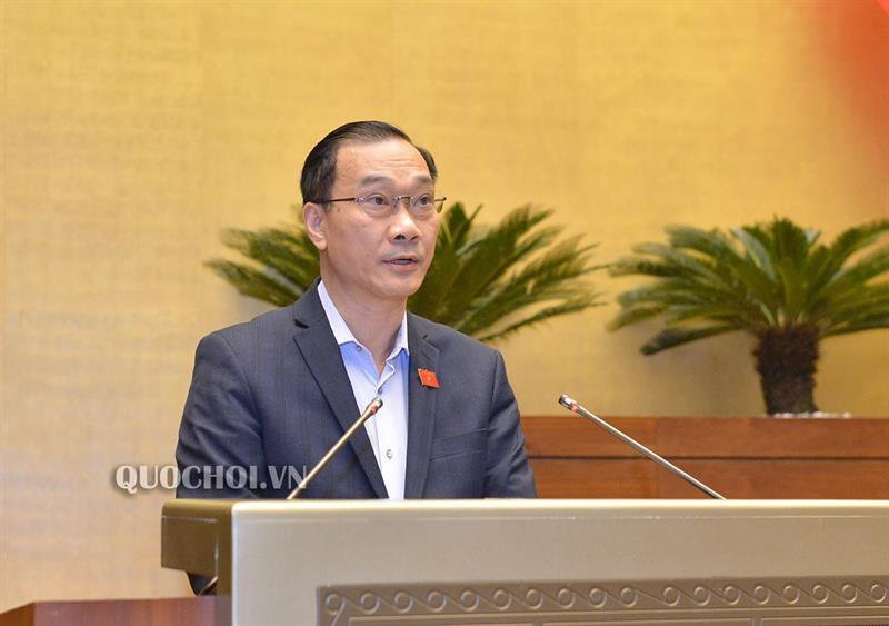 Ông Vũ Hồng Thanh, Chủ nhiệm Uỷ ban Kinh tế của Quốc hội