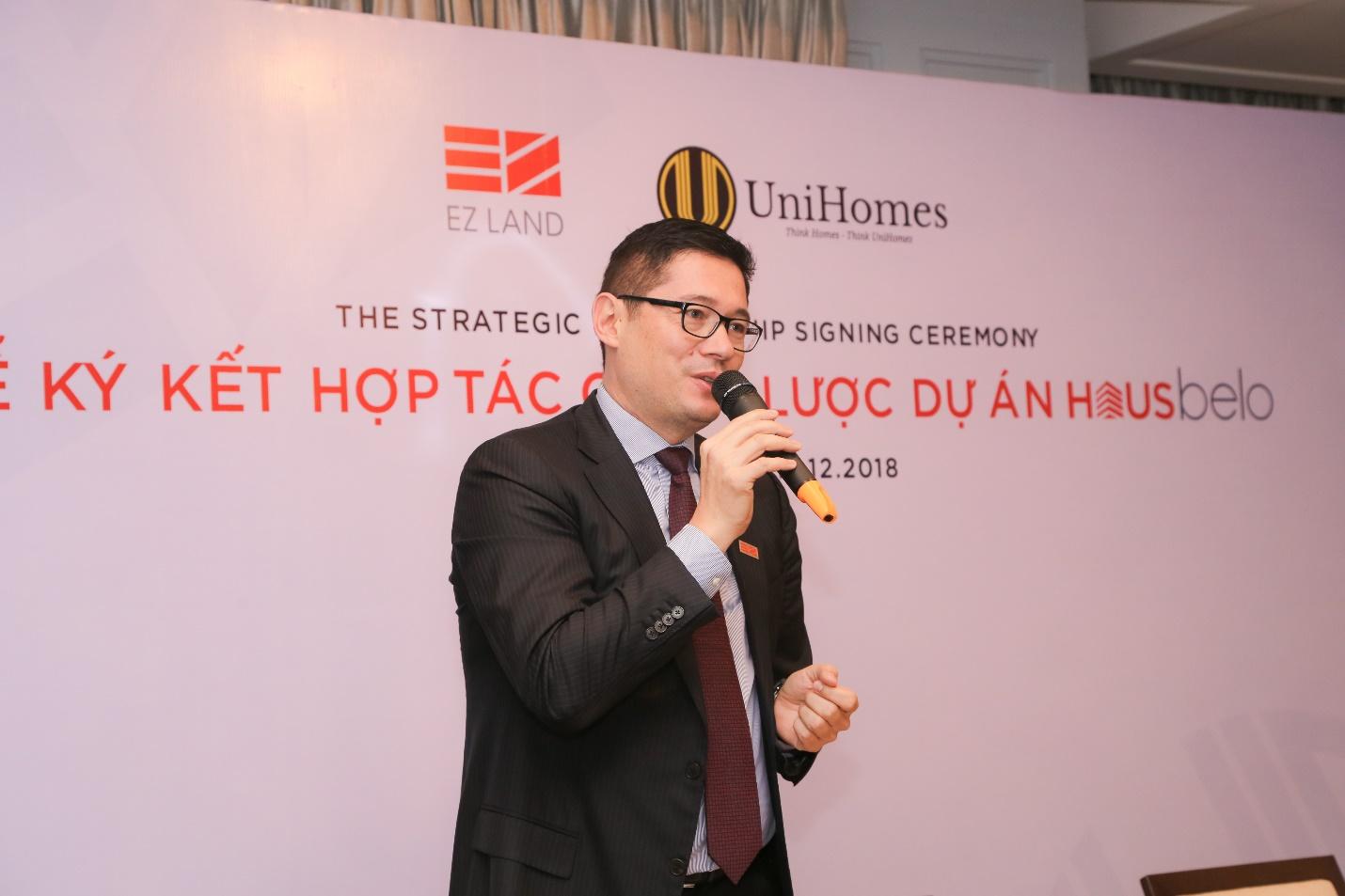 EZ Land và UniHomes hợp tác phân phối Dự án HausBelo
