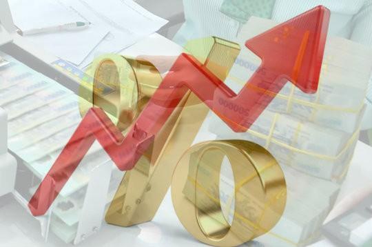 Lãi suất tăng lên mức 8,7%/năm