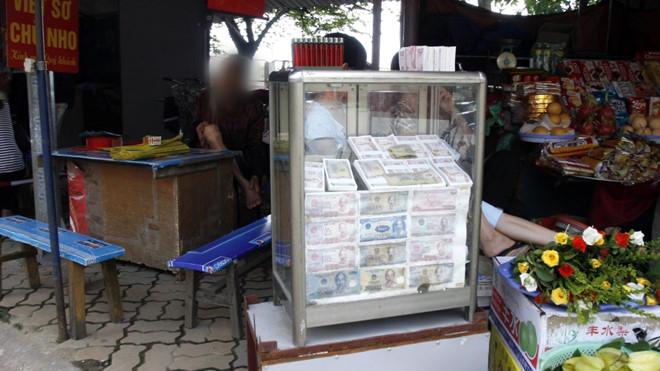 Đổi tiền mới, tiền lẻ