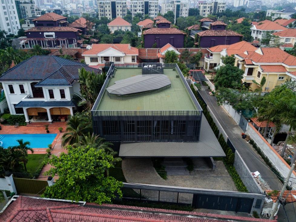 Đột nhập Biệt thự hiện đại có 1 không 2 tại Thảo Điền