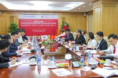 Đối tác Hàn Quốc đề xuất hỗ trợ Agribank cổ phần hoá