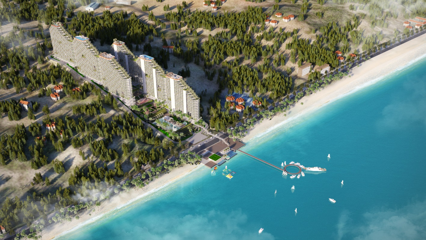 Condotel 5 sao quốc tế tại Bình Thuận thu hút đầu tư bởi khả năng sinh lời cao