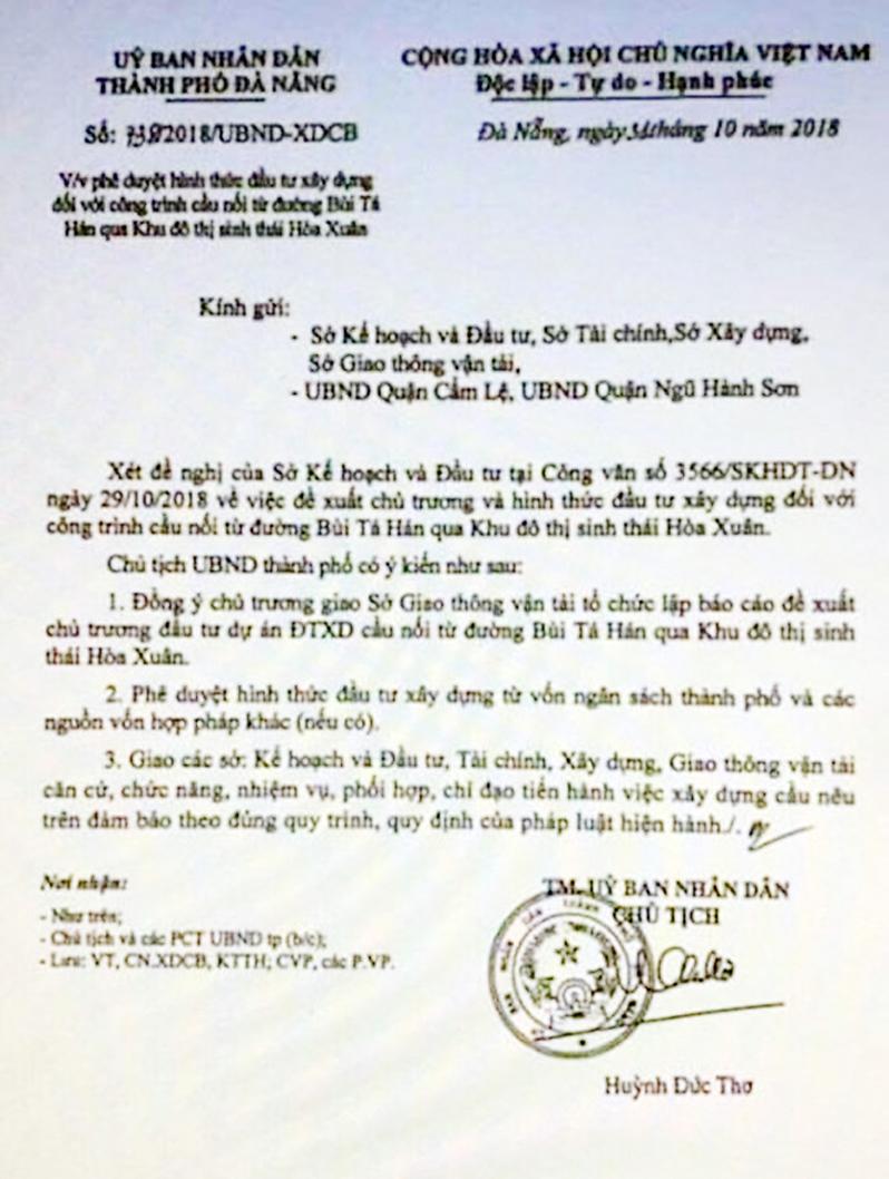 Đà Nẵng: Sẽ kiên quyết tìm ra đầu mối đồn thổi giá đất