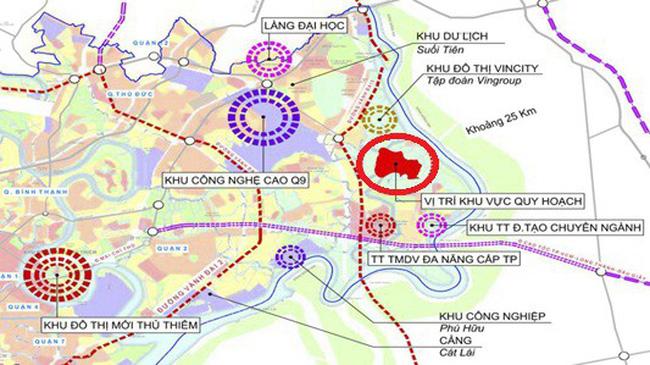 TP.HCM duyệt thi quốc tế ý tưởng quy hoạch đô thị sáng tạo phía Đông hơn 21.172ha