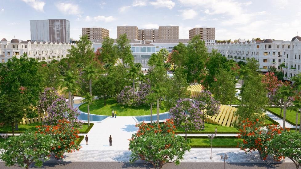 Gò Vấp sắp có công viên quảng trường rộng 2ha
