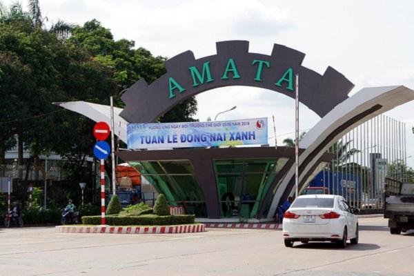 khu công nghiệp Amata ở Đồng Nai - Ảnh: Tuyết Mai