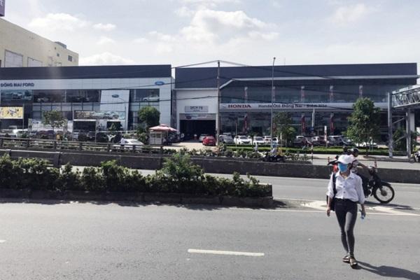 Thửa đất có diện tích 8.420 m2 công ty Tấn Phát Đạt thuê lại của Amata - Ảnh: Tuyết Mai
