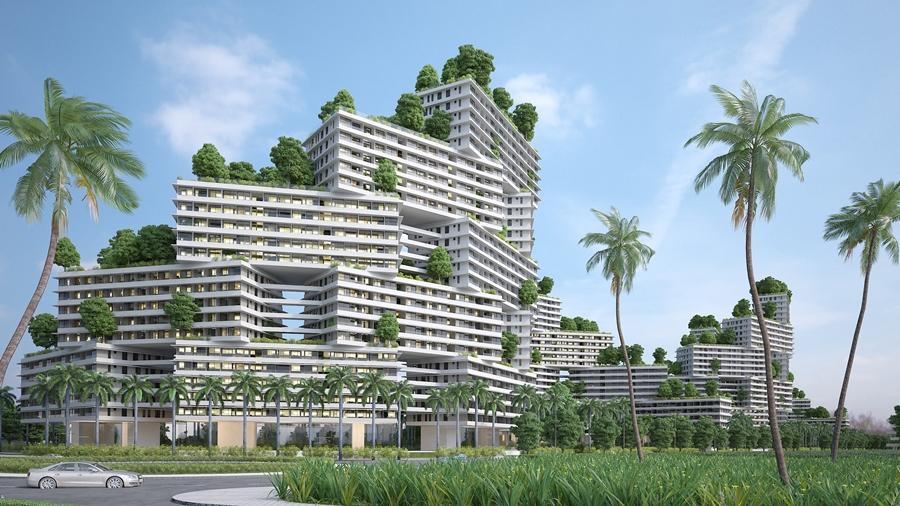 """Kiến trúc xanh độc đáo và văn hóa bản địa là yếu tố được Thanh Long Bay đặc biệt chú trọng nhằm đáp ứng yêu cầu cao về """"sống xanh"""" và nhu cầu tìm hiểu văn hóa địa phương của khách hàng quốc tế."""