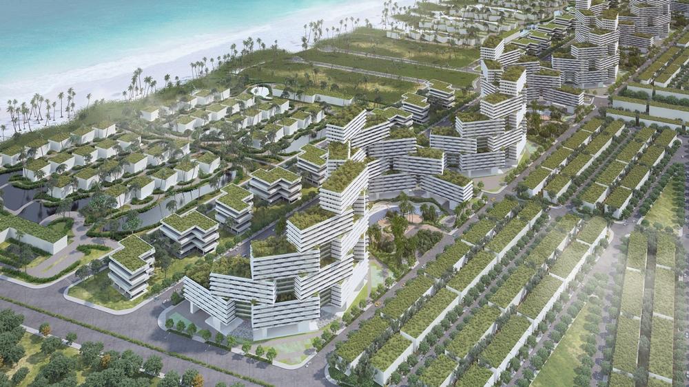 Dòng căn hộ biển luôn là kênh đầu tư an toàn đối với các nhà đầu tư bởi giá bán hợp lý, tiềm năng sinh lời bền vững, đặc biệt là các dự án có vị trí đắc địa, quy hoạch chuẩn mực và sở hữu lâu dài. Hình: Thanh Long Bay