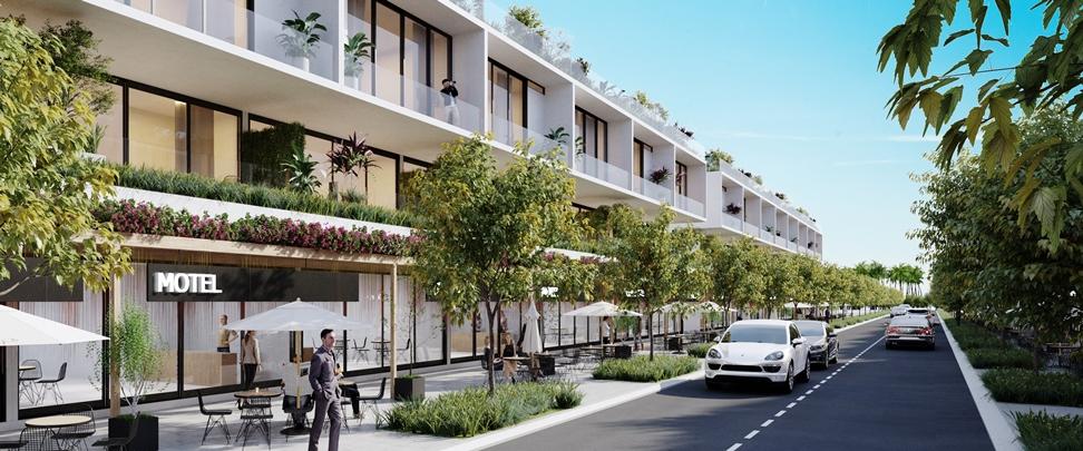 Điểm nổi trội của căn hộ biển Thanh Long Bay là hầu hết các căn hộ đều được thiết hướng biển, theo phong cách kiến trúc công trình xanh thế giới và được trang bị hoàn thiện nội thất cao cấp. Hình: Thanh Long Bay