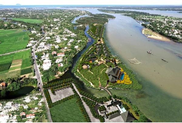 [object object] Quảng Nam giao hơn 5ha đất cho HG Holdings xây dựng Khu nghỉ dưỡng cồn Ba Xã qhconbaxa 1566919943