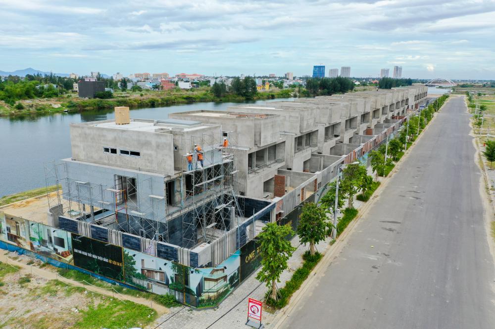 WinerLand - 36 biệt thự sai phép này nằm trong dự ánKhu đô thị Phú Mỹ An còn có tên thương mại là Đà Nẵng Pearl