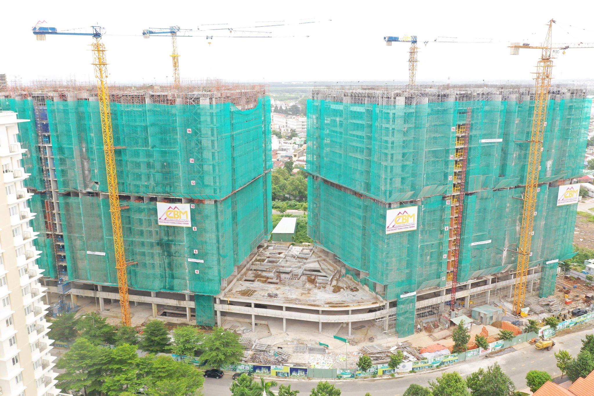 Chính thức cất nóc dự án căn hộ hạng sang đầu tiên của Biên Hòa