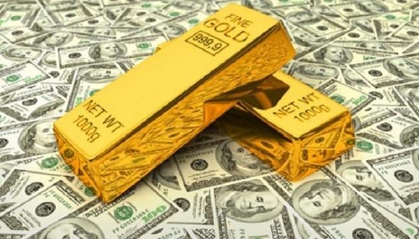 Vàng, USD mất giá mạnh phiên đầu tuần