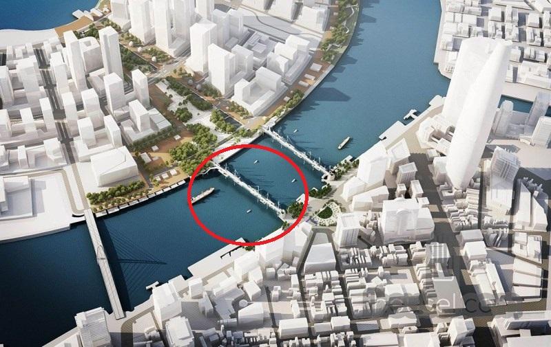 TP.HCM duyệt nhiệm vụ chọn phương án thiết kế kiến trúc cầu đi bộ qua sông Sài Gòn caudiboquasongsaigon01 1569508546