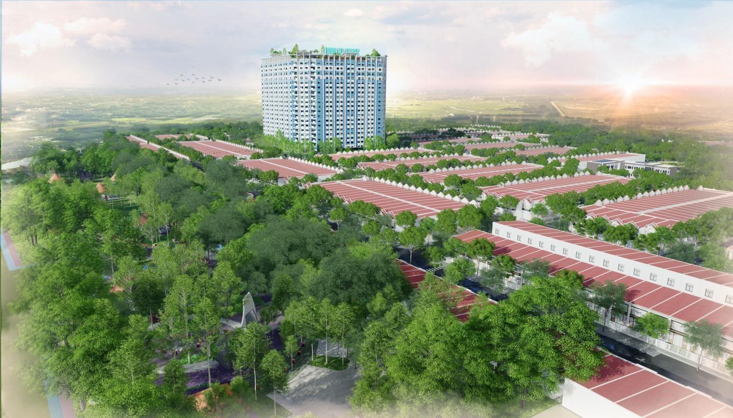 Giá nhà đất Bến Cát tăng 2-3 lần sau 2 năm thinh gia tower 1570278655