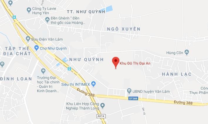 Hưng Yên: Duyệt quy hoạch 1/500 khu đô thị Đại An rộng hơn 293ha dai an 1571064979