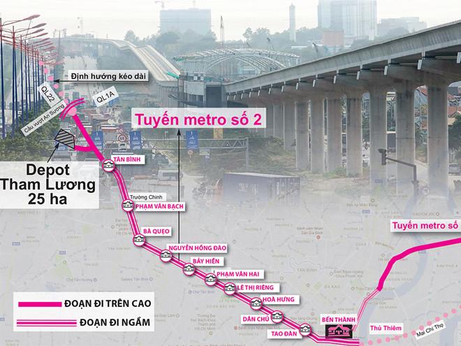 Di dời các công trình hạ tầng kỹ thuật tuyến Bến Thành – Tham Lương metro so 2 1571132816