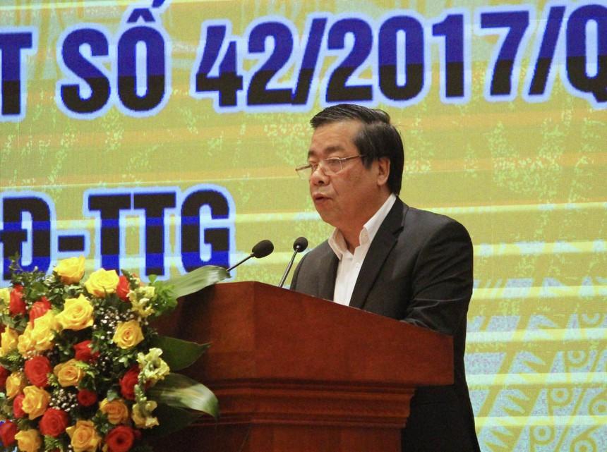 Phó Thống đốc NHNN Nguyễn Kim Anh phát biểu tại Hội nghị