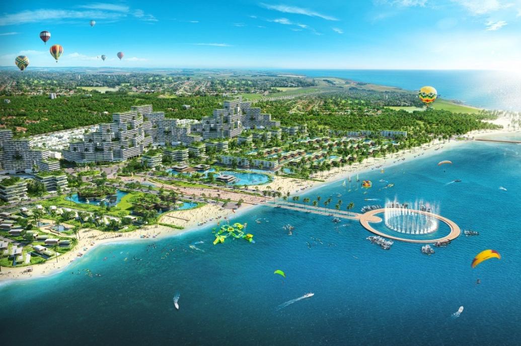 Với trung tâm thể thao biển lớn nhất Việt Nam theo tiêu chuẩn quốc tế, Thanh Long Bay sẽ là địa danh thay đổi hoàn toàn bản đồ du lịch quốc gia