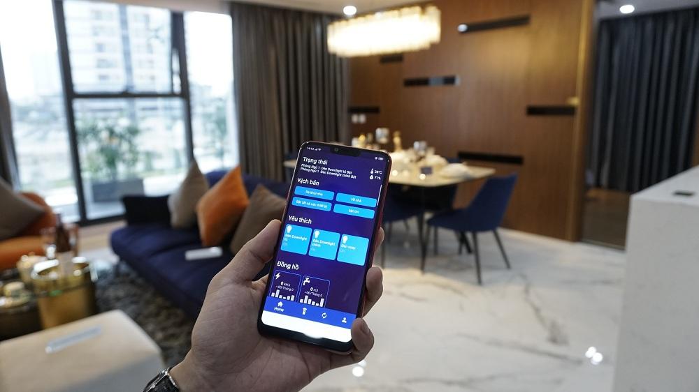 Smart Home gắn liền Smart Living mang đến cuộc sống thời thượng cho cư dân Sunshine City Sài Gòn