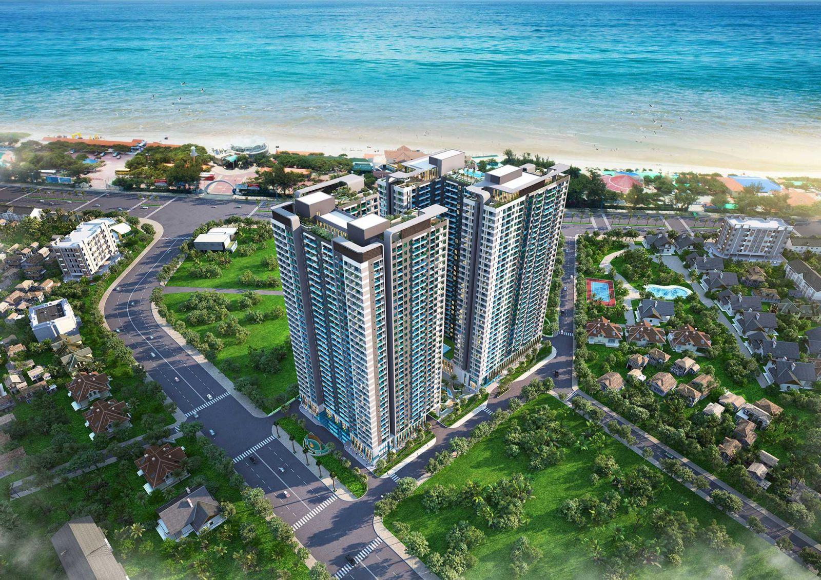Bà Rịa – Vũng Tàu: Chấp thuận đầu tư dự án Vũng Tàu Pearl cao 33 tầng vung tau pearl phoi canh 1571406361