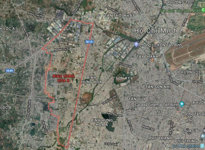 TP.HCM: Duyệt quy hoạch 1/2000 Khu dân cư phía Tây Quốc lộ 1A hơn 437ha binh hunghoa b 1572517837