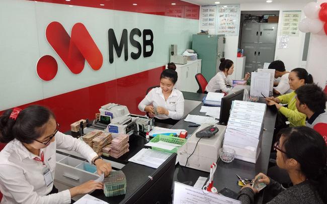 MSB báo lãi hơn 1.000 tỷ đồng 9 tháng đầu năm 2019